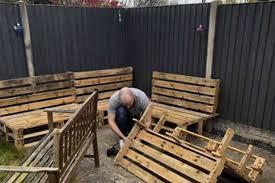 dad creates stunning diy outdoor