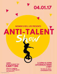 Talent Show Flyer Design Copy Of Talent Show Flyer Template Postermywall Talent