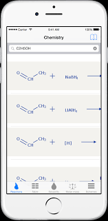chemical reactions solving periodic table in chemistry app
