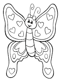 Butterflies Coloring Pages Pdf Download Coloring Page Of A Butterfly