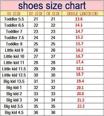Little Kid Big Kid Shoe Size Chart Spring Summer Girls Led Light Shoes Soft Bottom Sneakers Breathable Sport Baby Boys Kids Coconut Fashion Casual Childrens Shoes Boys Sports Shoes
