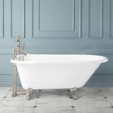 celine cast iron clawfoot tub
