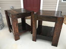 wood end tables. 16, 9:32 PM.jpg Wood End Tables