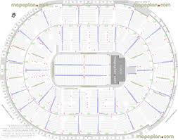 Verizon Center Seating Chart For Hockey Sap Center Seat Row Numbers Detailed Seating Chart San