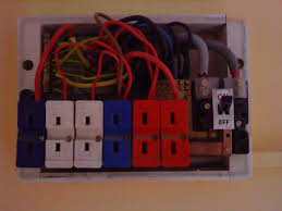 consumer unit replacement old style fuse box blown Old Style Fuse Box #21