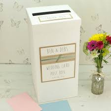 How To Decorate A Wedding Post Box Wedding Post and Card Boxes notonthehighstreet 16
