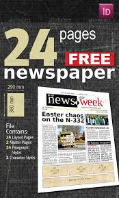 Free Newspaper Template Psd 35 Best Newspaper Templates In Indesign And Psd Formats