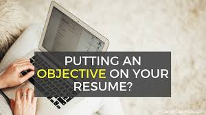 What Is Needed For A Modern Resume Does Your Resume Really Need An Objective