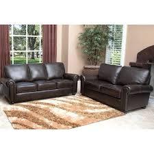 abbyson living sofas living sofa living leather
