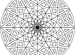 geometric pattern coloring pages for s stock patterns colourin
