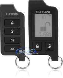 clifford matrix 5706x remote start car alarm keyless entry system clifford matrix 5706x
