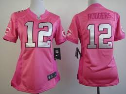 Green Jersey Pink Bay Packers