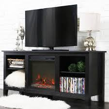 whitewash wood fireplace tv stand for tvs up