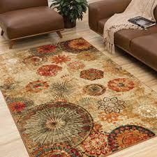 mohawk kitchen rugs fabulous mohawk home strata caravan medallion multicolored area rug 5 x 8