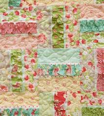 8 Sweet Baby Girl Quilt Patterns That'll Make You Swoon & Baby Girl Quilt Pattern With Ruffles Adamdwight.com
