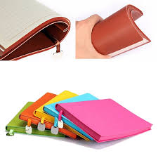 B5 A5 A6 Different Color Pu Leather Journal Soft Cover Premium Color