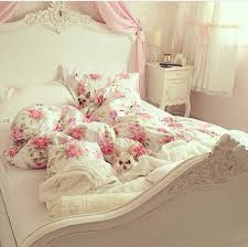 home accessory bedding fl pastel pink pastel pink girly kids room wheretoget