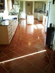 Terra Cotta Floor Tile Kitchen Terracotta West Surrey Tile Doctor