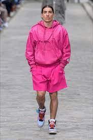 Hector Bellerin walks the Louis Vuitton catwalk at Paris Fashion Week Men's    London Evening Standard