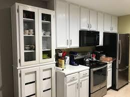 Diy Kitchen Cabinets Makeover Diy Kitchen Cabinet Makeover White Mickey And Megans Blog