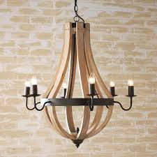 wood and iron chandeliers rustic wood iron chandelier best wine barrel chandelier ideas on rustic wood
