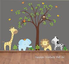 baby bedroom ideas stickemup wall art jungle theme nursery stuff sets decoration on darkgray backdrop sweet