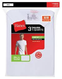 Hanes 3 Pack T Shirts