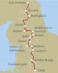 Pennine Way Distance Chart Pennine Way National Trail Os Map Booklet Cicerone Press