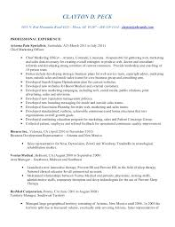 Resume Specialists Clayton Peck Resume 2011