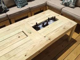 Beer Cooler Coffee Table Ana White Coffee Table For The Deck Diy Projects