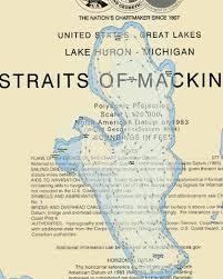 Burt Lake Fishing Map Us_mi_16_193 Nautical Charts App