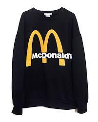 Zara Men 2018 Mcdonald S Unisex Sweatshirt 4644 341 At