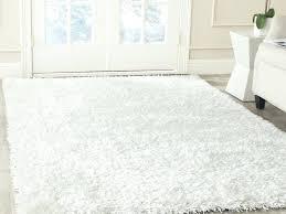Amazon Com Cozy Soft And Plush Moroccan White Shag Area Rugs 5 For