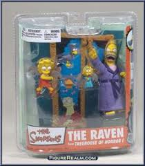 McFarlane Toys The Simpsons Series 2 The Raven Action Figure Set Simpsons Treehouse Of Horror Raven