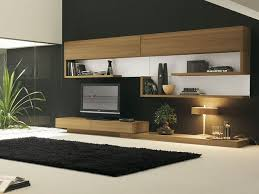 tv rooms furniture. living rooms rectangular black woven rug in front of modern veneer tv stand set with light color combined smooth white carpet floor on room tv furniture