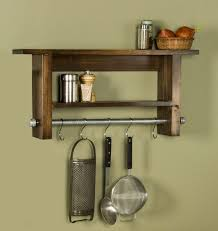 pot rack shelf. Brilliant Pot Ivey Farmhouse Industrial Rustic Shelf With Pot Rack  Utensil Holder U2013  Touches With