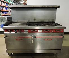 vulcan commercial stove. Interesting Commercial New U0026 Used Restaurant Supplies Equipment Chicago Tampa Near Me  Vulcan  V60F2 Commercial Gas Range W 6 Burners 24 To Stove City Food Equipment