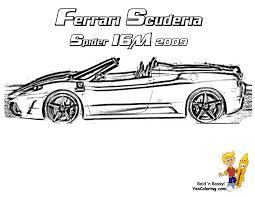34 Dessins De Coloriage Ferrari Imprimer Sur Laguerche Com Page 3