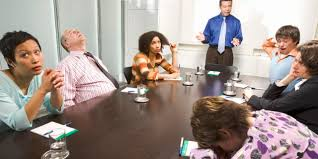 office meeting. have you been a victim of meeting malpractice office o