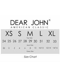 Jeans Dear John Jeans Size 24 Meuprimeiroride Com Br