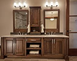 Wood Vanity Bathroom Simple 7 Bathroom With Dark Vanity On 50 Off Dark Wood Vanity