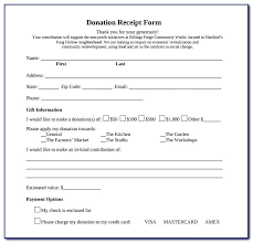 Sample Donation Form Church Donation Form Template