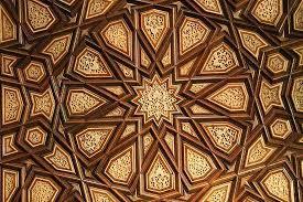 islamic wood carving wall art