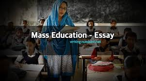 education essay mass education essay