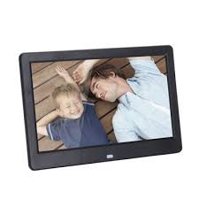 10 inch 1024 x 600 led digital photo frame with remote control