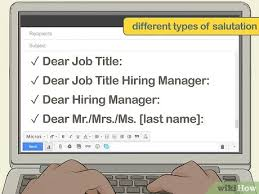 3 Simple Ways To Start A Cover Letter Without A Recipient Name