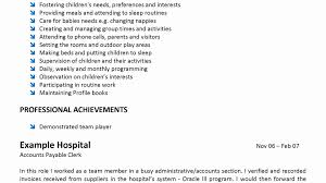 Child Care Resume Child Care Sample Resume Best Riez Resumes For Childcare Jobs 85