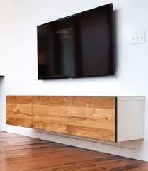 DIY Hanging 10 foot Credenza using IKEA wall units wood $300