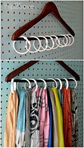8 Clutter Problems Solved by Shower Rings. Storing ScarvesOrganize ...