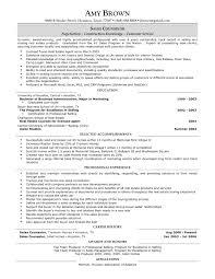 Resume Sample Real Estate Resume